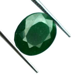 IGL Certified 4.65 Ct. Natural Oval Colombia Emerald