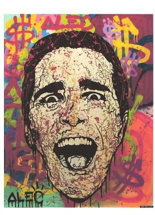 Pop Art Litho Print Wall Street Art Print Monopoly Alex