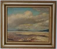 Vintage Original Massachusetts Oil Painting Signed.