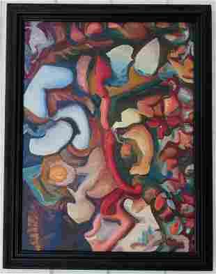 Jon D.SAbstract Painting on Canvas