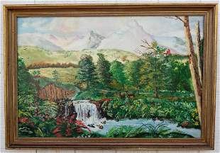 Beautiful Landscape Oil Painting Painting