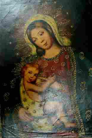 Oil Religious Hand Painted Painting on Canvas