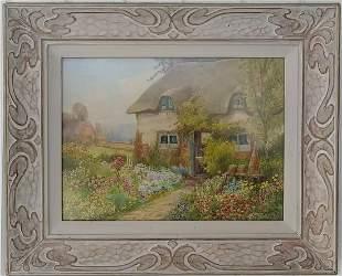 Arthur Wilkinson 1860-1930 Watercolor Painting