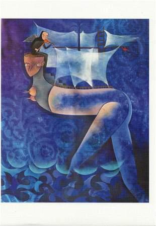 Vincent R. Bonacheal Litho on Thick Paper