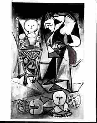 1950 Photography Pablo Picasso Painting