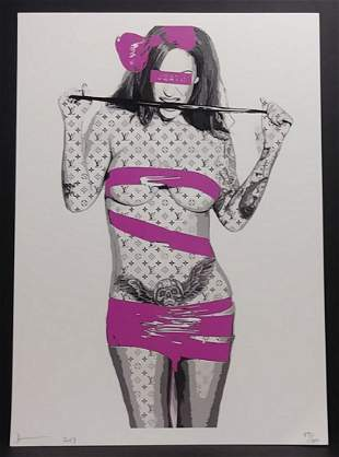 Pop Art Lithograph Print W/Certificated of Authenticity