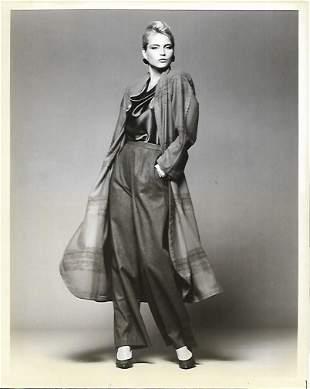 1984 Original Photo Woman Models Vintage Fashion