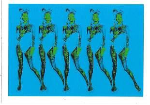 Death NYC Pop Art Lithograph W/COA - LOVE DEATH