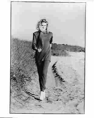1983 Original Photo Woman Models Vintage Fashion