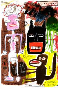 Jean-Michel Basquiat Expressionism Painting Drawing