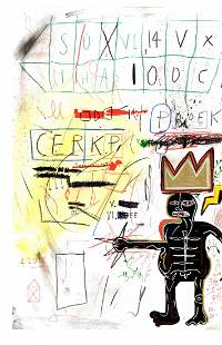 Jean-Michel Basquiat - Expressionism Painting Drawing