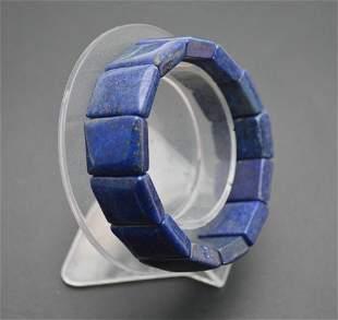 Natural Lapis Lazuli 20mm Width Gemstone Square Beads C