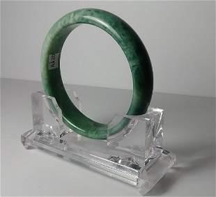 Antique Natural Jade Nephrite Bangle