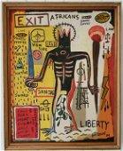 Jean-Michele Basquiat - Africans - Samo Painting