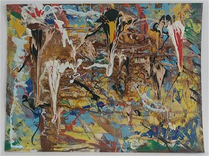 Italian Modernism Abstract Expressionism Painting