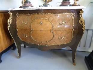 Luis XVI French Dore Bronze Table