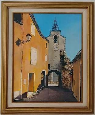 1983 Mexico Cathedral Painting Frame