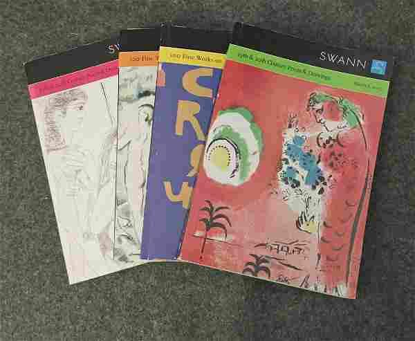 Four Swann Modern Art Auction Catalogues (2007)