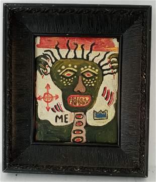 Jean-Michele Basquiat - ME Samo Painting