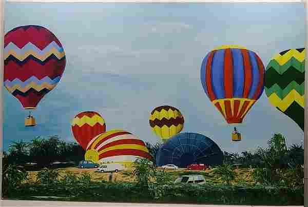 Hot Air Balloons Lakewood Ranch Florida 2018 Plain Air