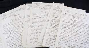 14 Old Documents,Habana, Cuba Company Letters from 1891