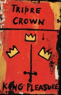JMB Signed - SAMO KING CROWN - Art Painting Signed