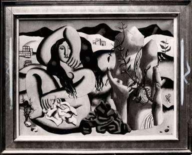 Original Vintage Photography Fernand Léger French