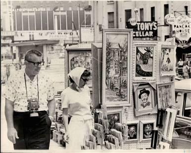 1965 Vintage Photography Gold Coast Art Fair Chicago
