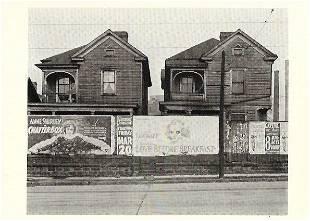 Walker Evans Billboards and Frame Houses, Atlanta