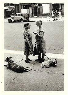 Vintage Postcard Dan Weiner East End Avenue 1950 NYork