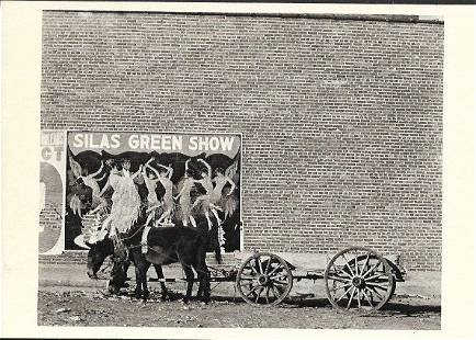 Vintage Postcard Mule Team and Poster Photo by Walker E
