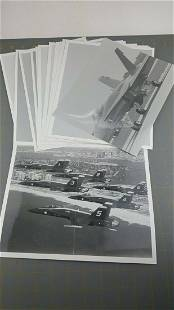 Lot of US Aviation BLUE ANGELS Airplane Aircraft 8 x10