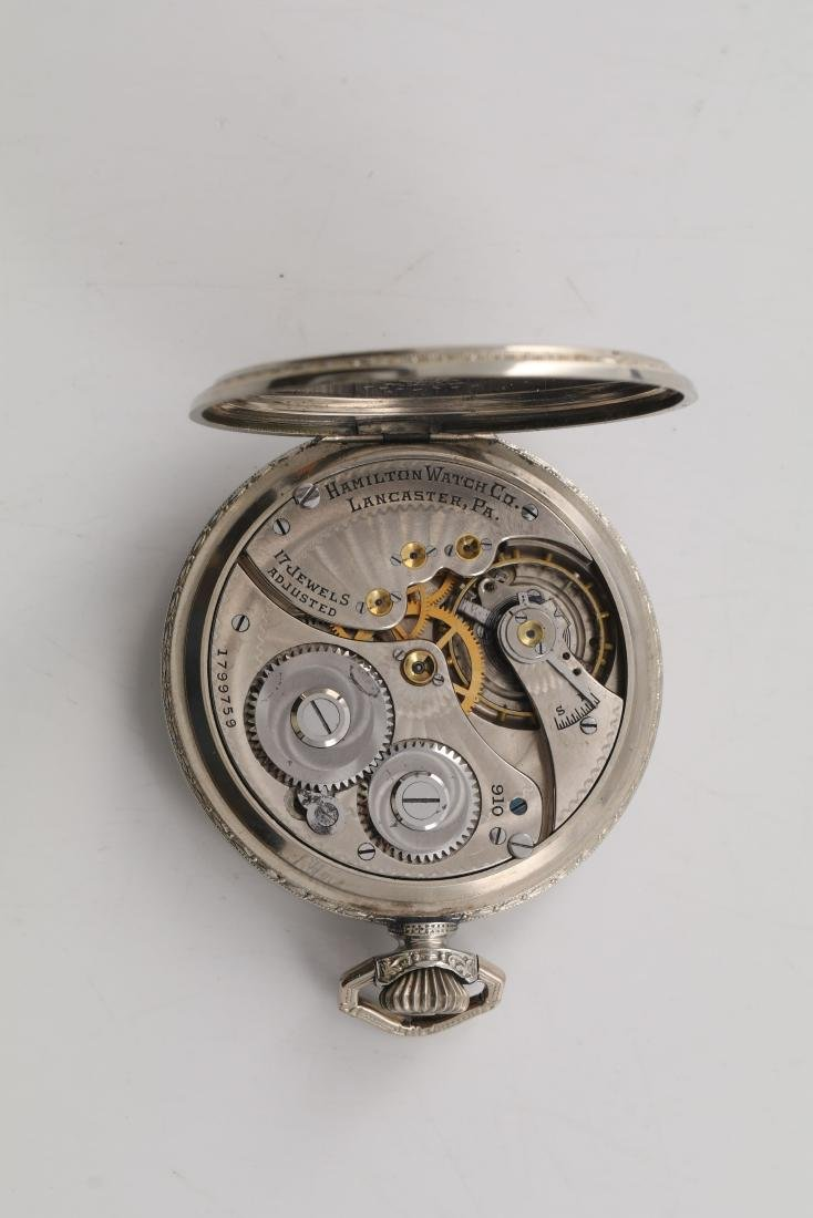 Hamilton pocket watch - 4
