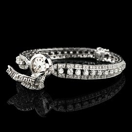 Ladies Rolex diamond watch