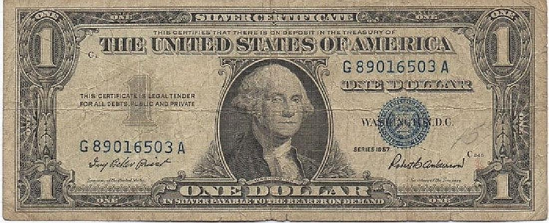 1 DOLLARO SERIE 1969 USA BANK NOTE