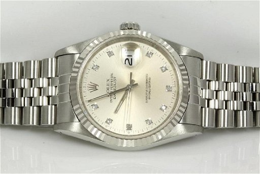 sports shoes c226c 9d1ed Rolex Datejust Diamond Mens Watch 16234G