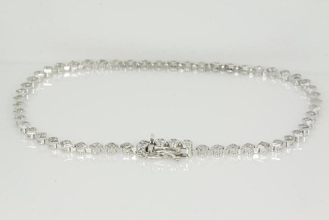 Diamond Tennis Bracelet 1.21cts