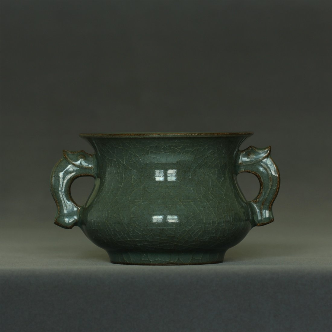 A LongQuan-Kiln censer Southern Song Dynasty.