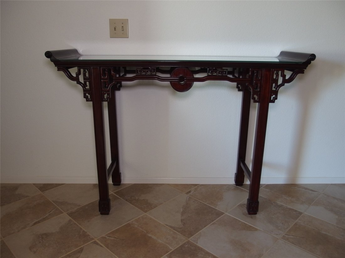 A Chinese vintage rectangular table