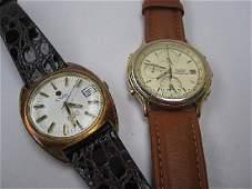 A Gentleman's Seiko Chronograph wristwatch with three