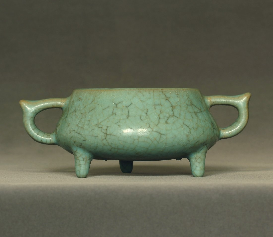 A LongQuan-Klin Censer Southern Song Dynasty.