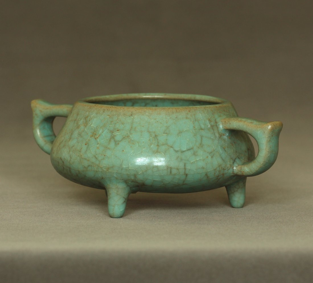 A LongQuan-Klin Censer Southern Song Dynasty. - 3