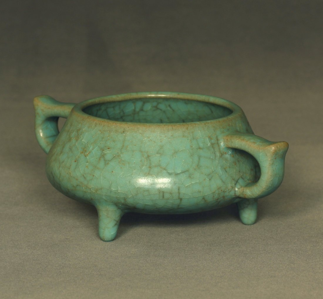 A LongQuan-Klin Censer Southern Song Dynasty. - 4