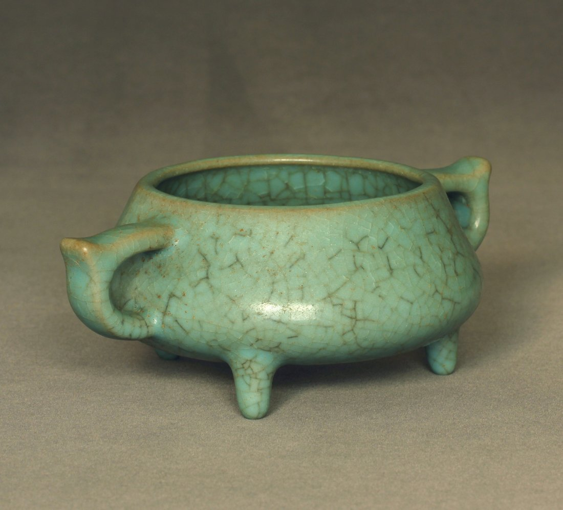 A LongQuan-Klin Censer Southern Song Dynasty. - 5