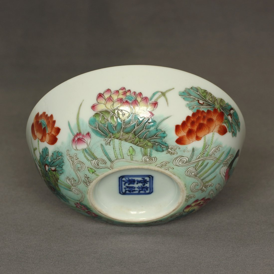 Famille rose porcelain bowl of Qing Dynasty DunMuTang - 10