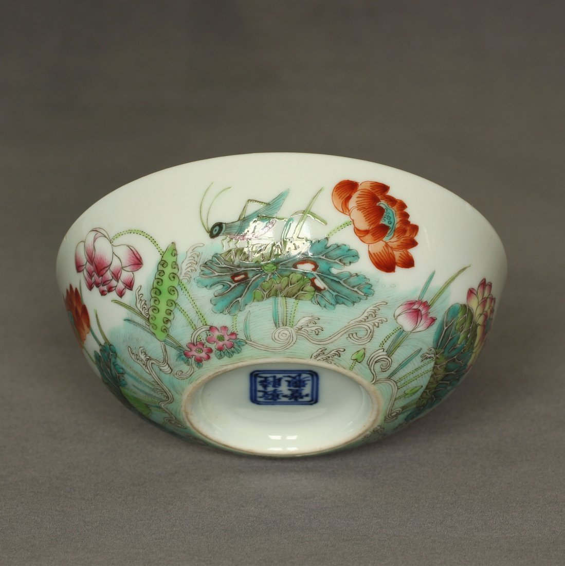 Famille rose porcelain bowl of Qing Dynasty DunMuTang - 7