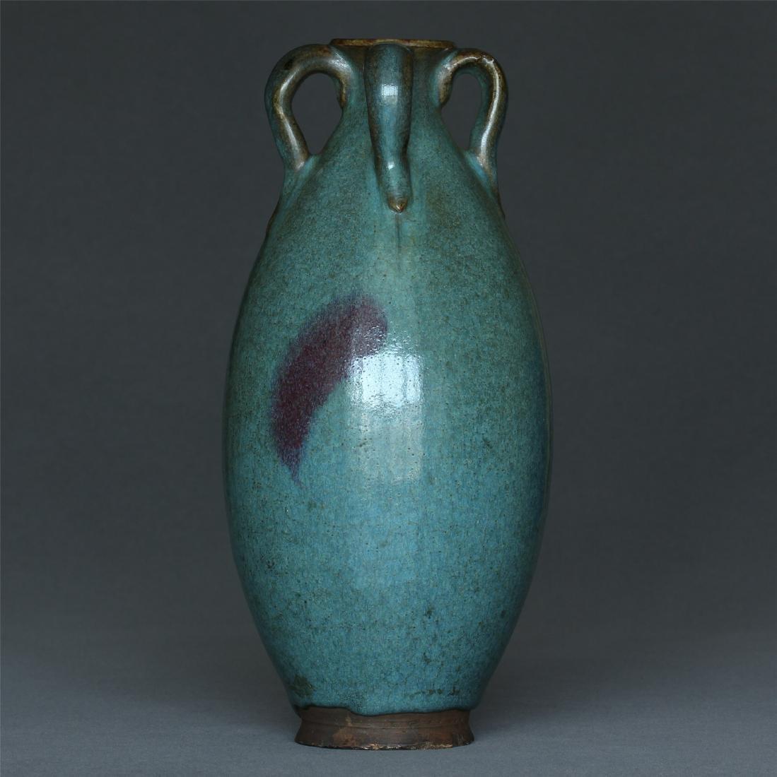 A Jun-Kiln Vase.