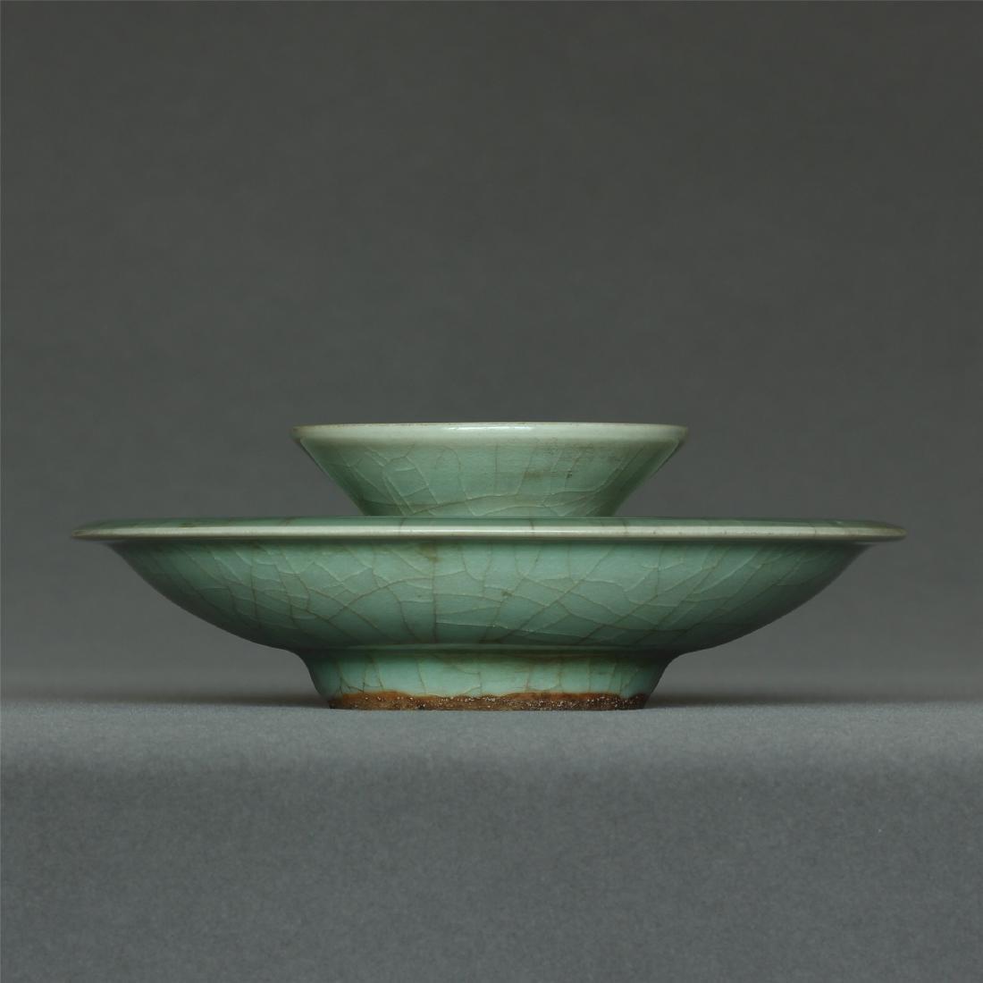 A LongQuan-Kiln Bowl Base Southern Song Dynasty.