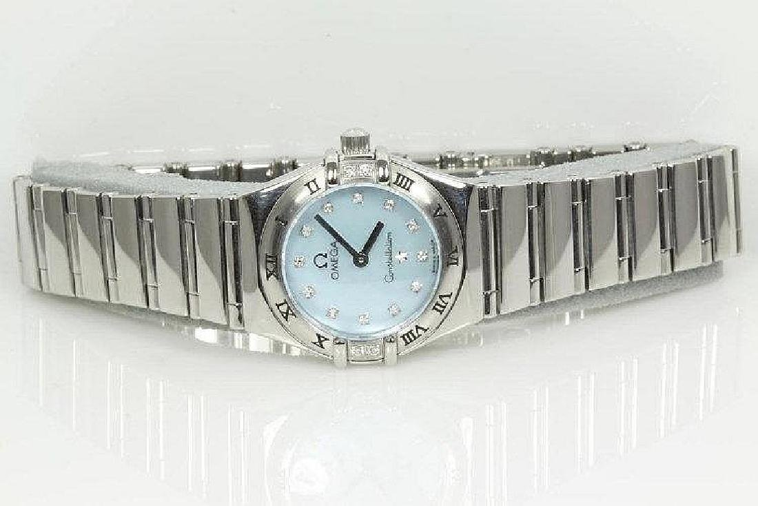 "Omega ""Constellation"" Stainless Steel Ladies Watch"