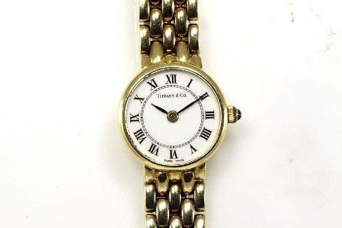 Tiffany & Co. 14ct yellow gold Ladies Quartz wrist